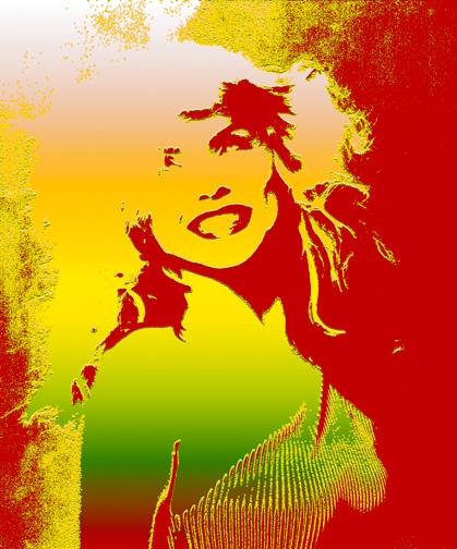 DebbieHarrySmileArt2(c)MickRock