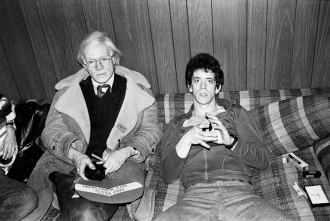Andy Warhol Lou Reed 1976