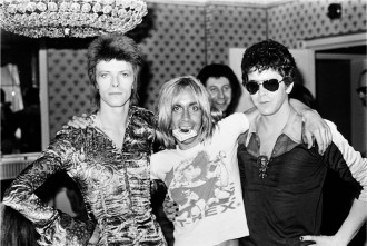 Bowie Iggy Loureed London 1972