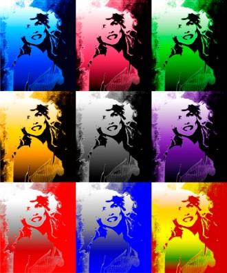 Debbie Harry Smile Art Multiple