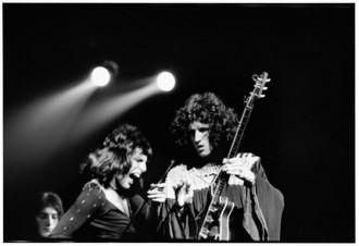 Freddie Mercury Brian May