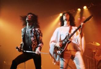 Freddie Mercury Brian May 1974