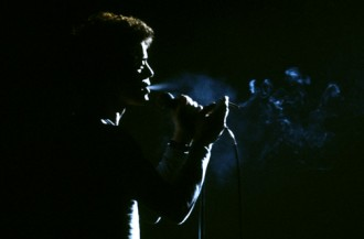 Lou Reed live smoke