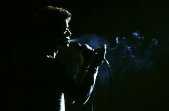 Lou Reed live smoke