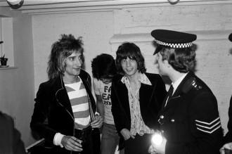 Mick / Rod / Ronnie Wood / Jeff Beck 1975