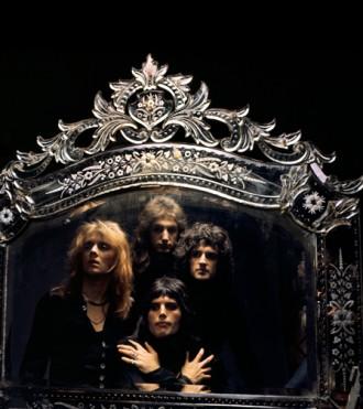 Queen in mirror 1974