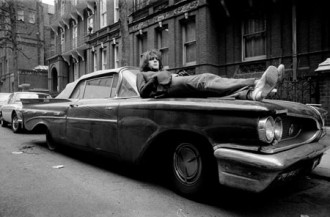 Syd Barrett on car1969
