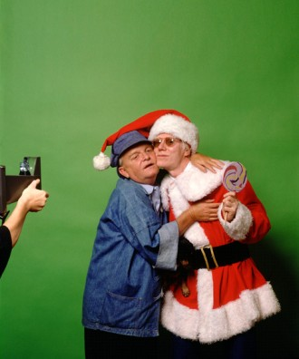 Truman Capote and Andy Warhol 1980