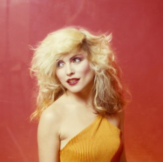 Debbie Harry Orange Head Turn New York 1978