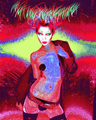 Kate Moss Photo Art