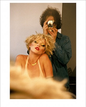 Kate Moss Mick Rock In Mirror New York 2002