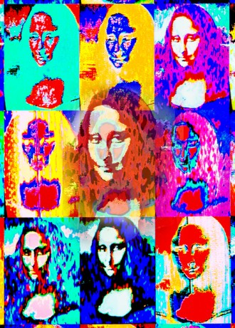 Mona Lisa Multiple