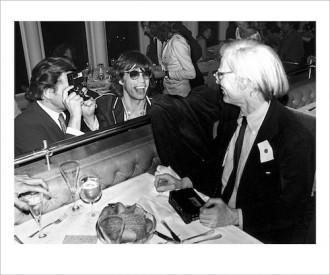 Mick Jagger and Andy Warhol NewYork 1978