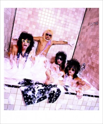 Motley Crue Bubble Bath