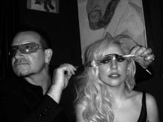 Bono and Lady Gaga