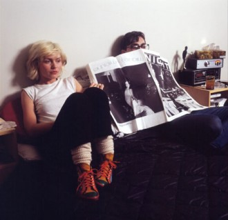 Debbie and Chris on bed 1979