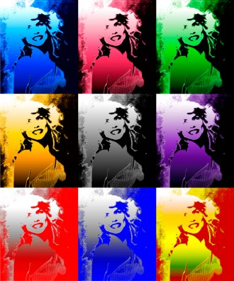 Debbie Harry Smile Art Multiple