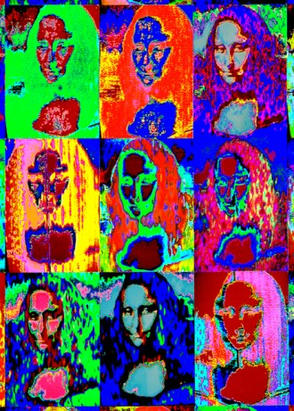 Mona Lisa Multiple 3