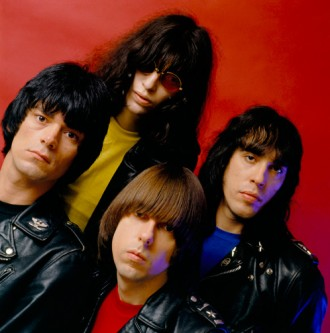 Ramones End of the Century album session 1979