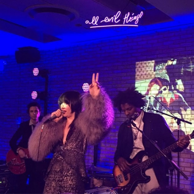 Brooklyn Vegan: Yeah Yeah Yeahs Played Their First Show in Years at the Mick Rock Doc Afterparty